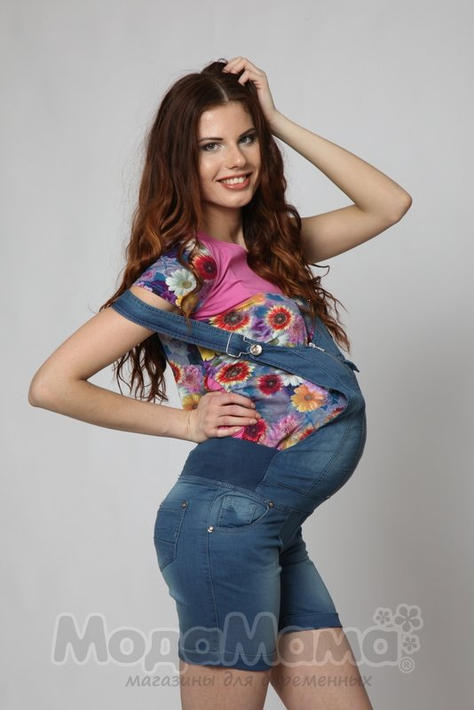Комбинезон для беременных шортами